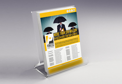 Design one side flyer