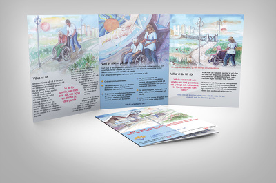 Design your (A3, A4 or A5) 6- 8 page Print ready brochure design