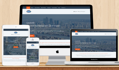 Design a fully responsive website with stunning graphics compatible for all devices
