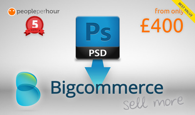 Convert your PSD design(s) to BigCommerce