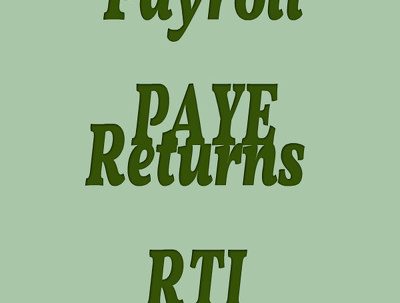 Do your payroll, submit PAYE returns (RTI) and produce payslips