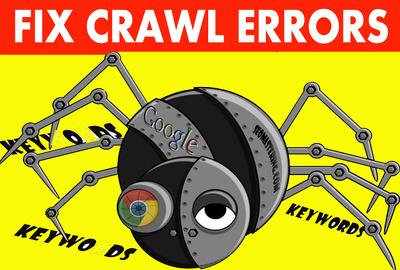find and fix your website Crawl error