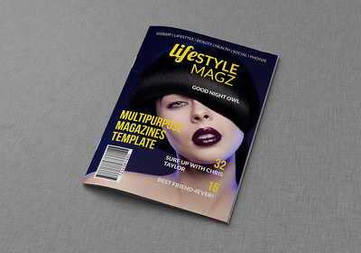 Design magazines or digital magazines for ipad&tab