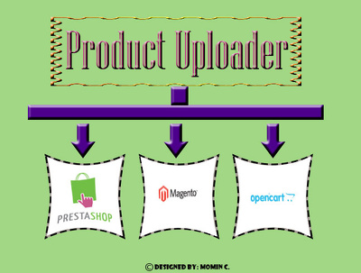 Upload 100 Products on Your PrestaShop, Magento, OpenCart  Etc. Store