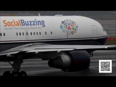 embed your logo or website into a cool aeroplane and create a fab  marketing video