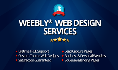 Modify or Revamped your Weebly Website