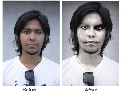 Turn your photo into a Halloween Themed photo