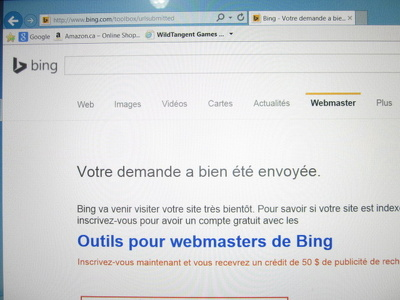 Manually submit your website to the top search engines