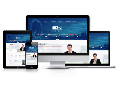 Design and develop website 5 pages Responsive Wordpress + Free logo