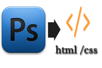 Convert PSD or Image to Html CSS JS quickly