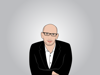Make a cartoon caricature  of you in vector & can do Animated gif if needed