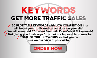 Find every possible Keyword get more Traffic sales leads