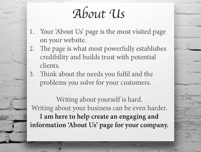 Write an engaging and informative 'About Us' Page of 500 words for your website/blog