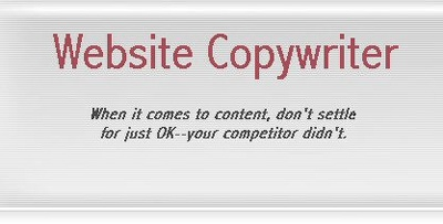 Write/upgrade  your website's content
