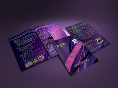 Design professional A3, A4, A5 brochure