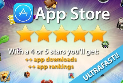 Provide 100 genuine iOS app installation, test and honest reviews