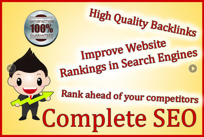 Rank your website higher in Google with my SEO service