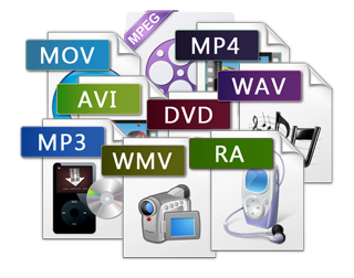 Convert any video file/ sequence. (Per 256Mb @ 720p)