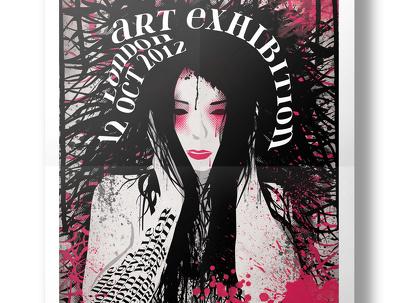 Design you a stunning original poster