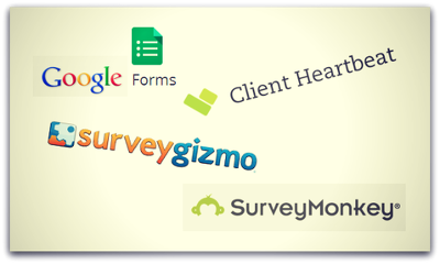 Create an online survey using survey tools (SurveyMonkey etc) for your business needs