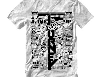 Design EXCLUSIVELY doodle illustration for t-shirt
