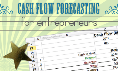 Prepare cash flow forecast (24 months)