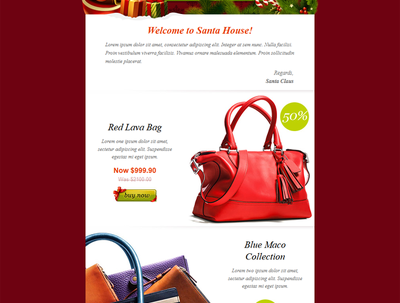 Design responsive Email Newsletter