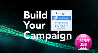 Build your adwords campaign from scratch including £150 adwords credit
