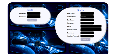 Develop login panel