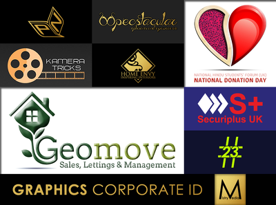 Design your corporate ID logo, with unlimited revisions