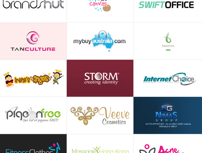 Design your exclusive logo with unlimited revisions and free business card