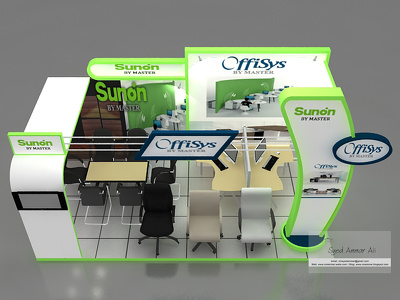 design exhibition stage, stall , product display or kiosk