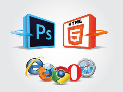 Convert your PSD or Adobe Illustrator to HTML 5