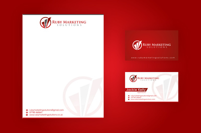 Design business card or Letterhead unlimited revision