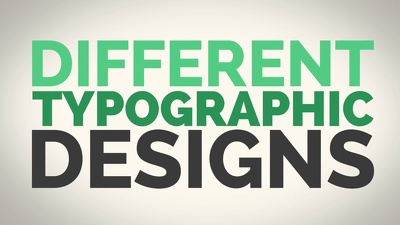 Create a kinetic typography video