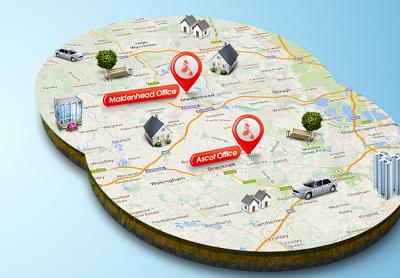 Design a 3d map