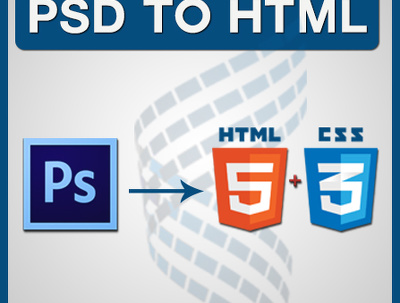 Convert PSD to HTML5 & CSS3 (hand-coded) with perfect pixels