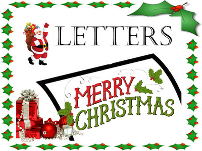 Write a Christmas & New Year business letter / email YULE love