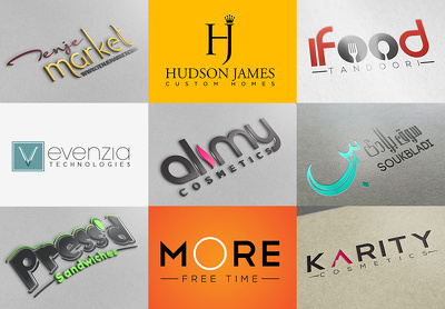 Design a professional logo + free custom business stationery | premium brand identity