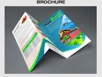 Design a creative Brochure for promotions