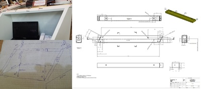 Convert your Hand sketch into AUTOCAD drawing