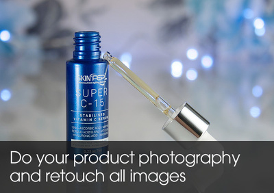 Do your product photography and retouch all images