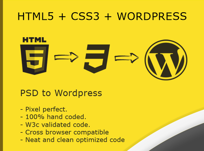 Convert your PSD Design into Fully Functional Wordpress Theme