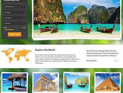 Money making travel website