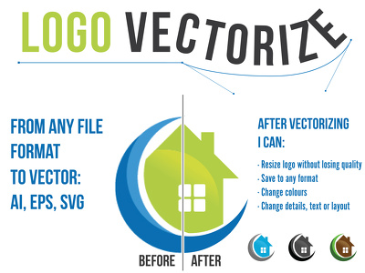 Vectorize your logo from image