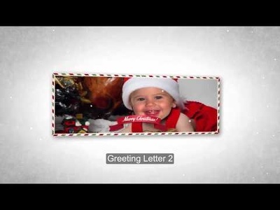 Create a magical Christmas greetings
