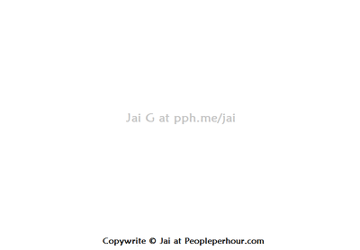 Add your watermark and © (copywrite) sign to your images