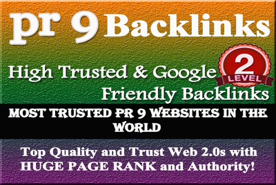 Manually create 20 google friendly pr9 backlinks & 10k Blog Comments backlinks
