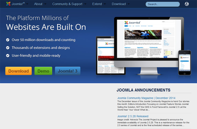 Create 10 page responsive Joomla   website
