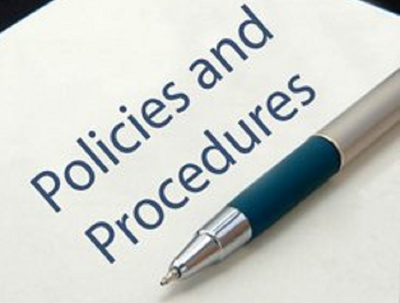 Review your company policies and procedures for any updates
